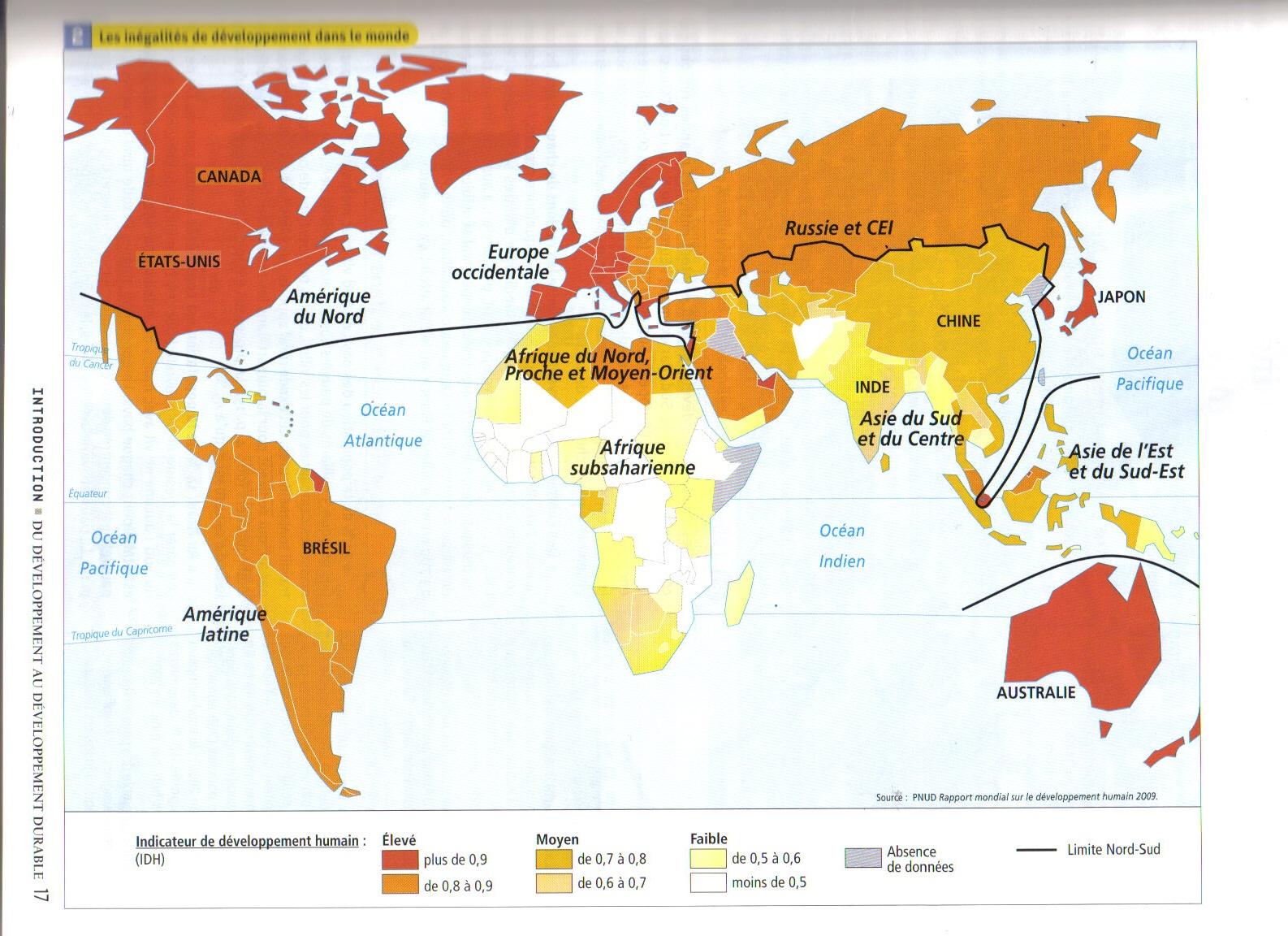 Carte Accroissement Naturel Asie.3º Eso O Blog De Xose Anton