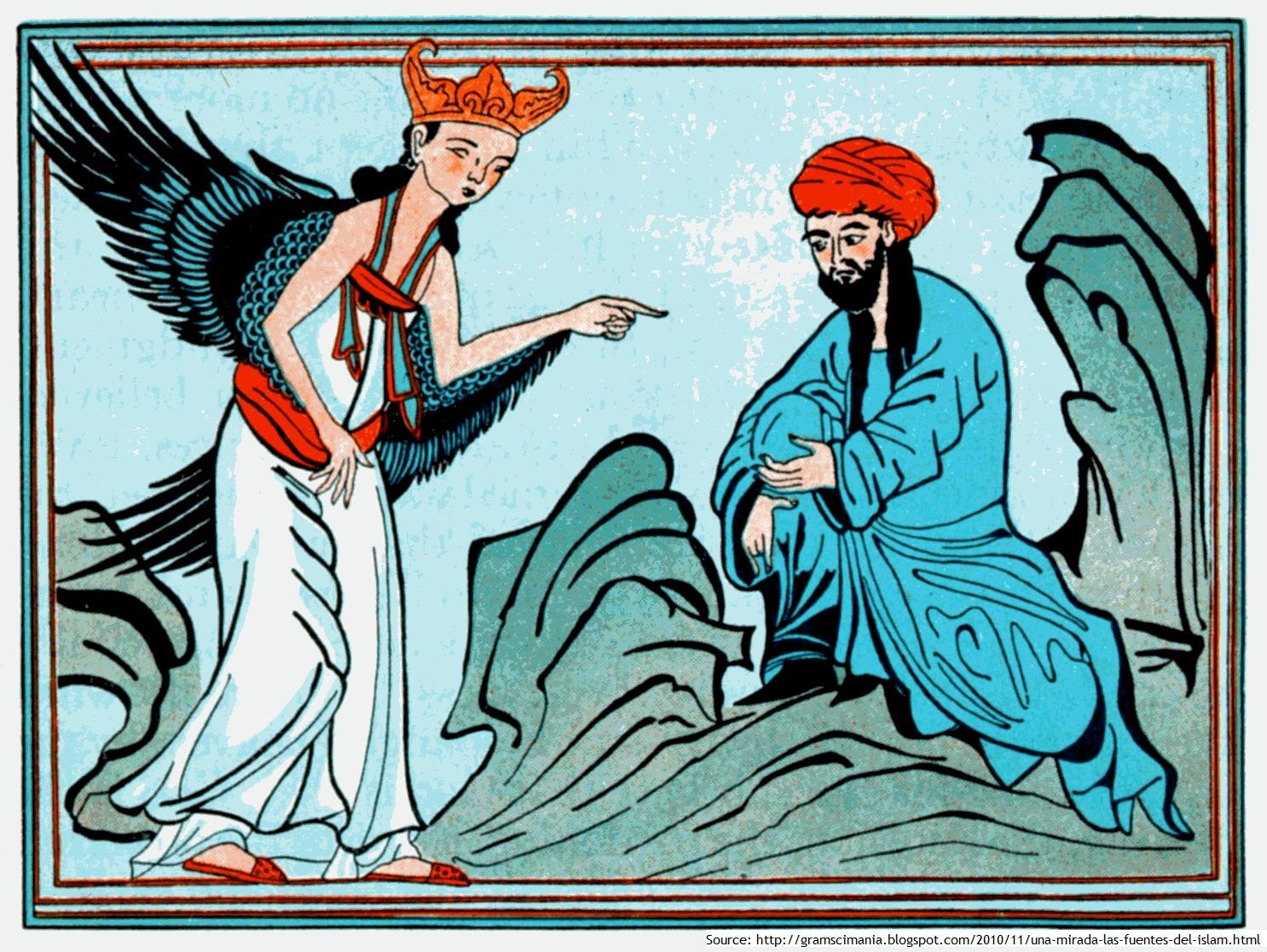 """Résultat de recherche d'images pour """"gabriel archange mahomet"""""""